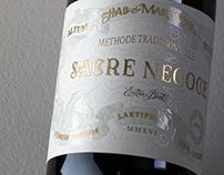 Hall & Marciniak - Wine label