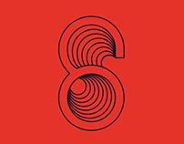 Six Music Festival branding