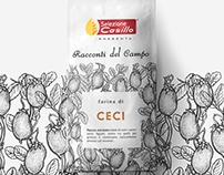 Racconti del Campo / Flour range dentity / New launch.