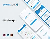 Askari Bank Mobile App Redesign
