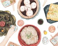 Hong Kong Food Crawlers: Postcards