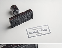 Free Psd of a Rubber Stamp PSD Mock Up