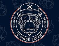 Le singe savant, brewery, Lille