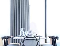 AZHA sea front villas | Interior design
