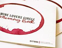 Wine Lovers Circle Memory Book