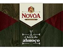 Folder Restaurante Novôa