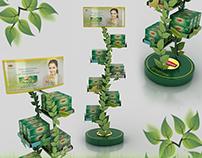 Lipton Green Tea POSM Displays 2017