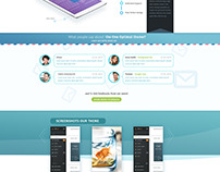ONE OPTIMAL - One Page design for APP