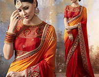 Traditional Party Wear Sarees By DesignersAndYou