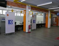 Design de Comunicação e Sinalética - Loja do Cidadão
