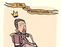 the king of procrastination | Jun 2015 | Comic