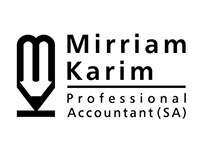 Mirriam Karim Logo Design