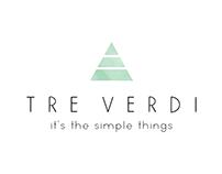 Tre Versi Logo Design
