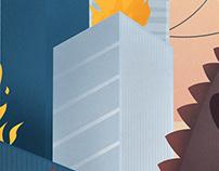 City Attack illustration