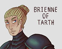 Character Design Challenge: Brienne Of Tarth April 2017