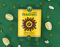 Brazil'ero Package and Logo Design