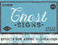 Ghost Signs Effects for Adobe Illustrator