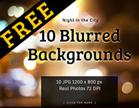 FREE 10 Blurred Backgrounds