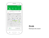 Side project -- Grab redesign
