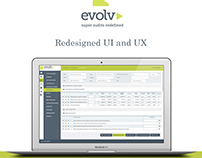 Evolv Dashboard - Redesigned UI and UX