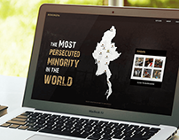 Rohingya Website design