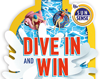 """Dive In"" campaign and animation for Ego Sunsense"