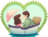 Young Love; Darla and Alfalfa