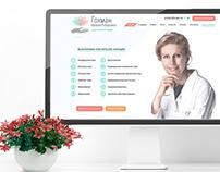 Site for plastic surgeon | Web Design