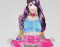 tattoo&watercolor
