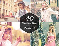 40 Free Retro Lightroom Presets