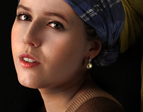 Girl with a Pearl Earring – Recreation