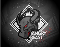 Angry Beast and Bull for Esport Logo