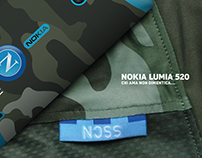 Nokia Lumia 520 SSC Napoli Limited Edition