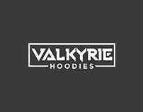 Valkyrie Hoodies Logo Design