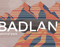 Badlands Graphic Poster