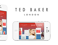 MOBILE AD - TED BAKER
