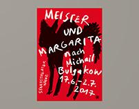 Staatstheater Mainz – Meister und Margarita (Poster)