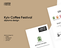 Kyiv Coffee Festival / diploma design