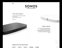 Sonos - Redesign