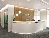 Small office in Sopot, 90 sqm, project in progress.