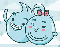 Plip & Plop! - Chat Sticker