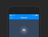 Login form - Mobile App Design