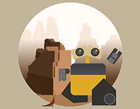 Wall-e Illustrations