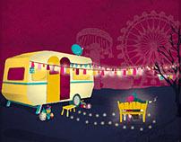 Caravan Story // Illustration