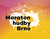 Maraton hudby Brno 2017