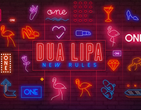 Dua Lipa New Rules Official Lyric Video