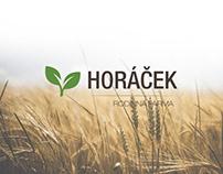 Logo design - Farma Horáček