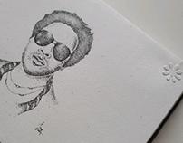 Lenny Kravitz Ink