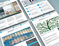 Sauber creative website design