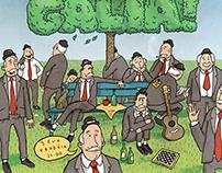 a gentlemen's picnic